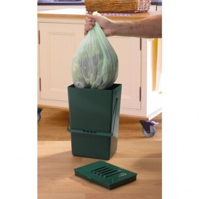 Suyrantys maišeliai komposto dėžei Caddy 9 L (20 vnt.)