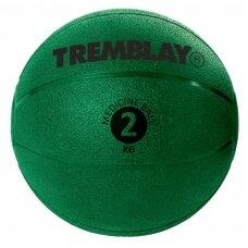 Svorinis kamuolys TREMBLAY Medicine Ball 2kg D20 cm