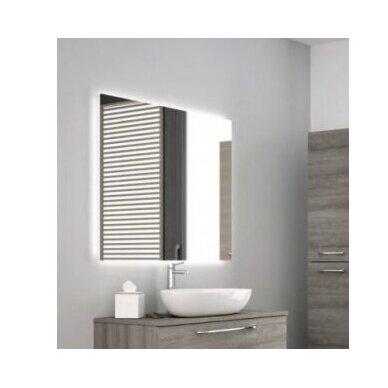 Šviečiantis veidrodis Kamė Grace 50, 60, 80, 100, 120 cm