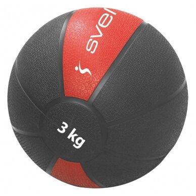 Svorinis kamuolys SVELTUS Medicine Ball 3kg D22 cm
