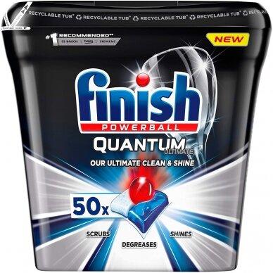Tabletės indaplovėms Finish Quantum Ultimate 50 vnt.