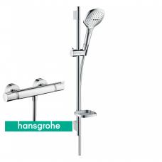 Termostatinis maišytuvas Ecostat Comfort su dušo komplektu Hansgrohe Raindance