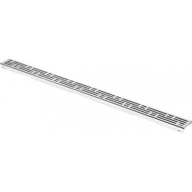 Dušo latako grotelės Tece Basic 70, 80, 90, 100, 120, 150 cm