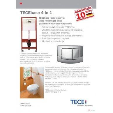TECE potinkinis WC rėmas 4in1 9.400.005 3