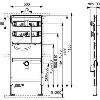 Tece universalus pisuaro modulis, 112cm 2