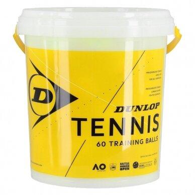 Teniso kamuoliukai Dunlop TRAINING 60-bucket