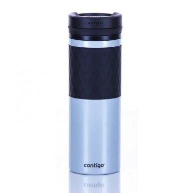 Termo puodelis Contigo Glaze Silver 470 ml