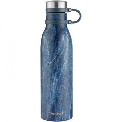 Termogertuvė Contigo Matterhorn Couture Blue Slate 590 ml