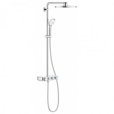 Termostatinė dušo sistema Grohe Euphoria SmartControl 310 Duo