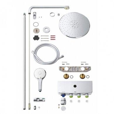 Termostatinė dušo sistema Grohe Euphoria SmartControl 310 Duo 2