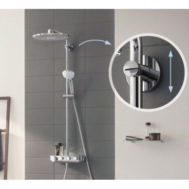 Termostatinė dušo sistema Grohe Euphoria SmartControl 310 Duo 3