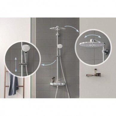 Termostatinė dušo sistema Grohe Euphoria SmartControl 310 Duo 4