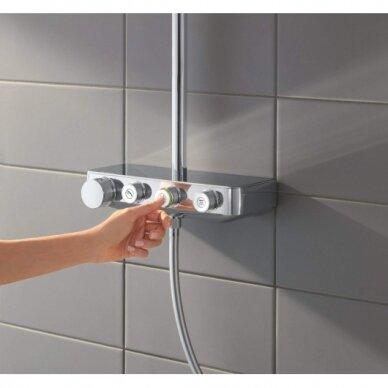 Termostatinė dušo sistema Grohe Euphoria SmartControl 310 Duo 5