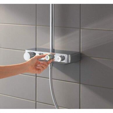 Termostatinė dušo sistema Grohe Euphoria SmartControl 310 Duo 6
