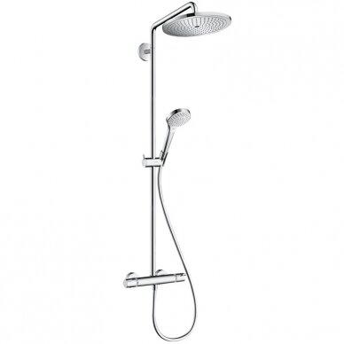 Termostatinė dušo sistema Hansgrohe Croma Select S 280