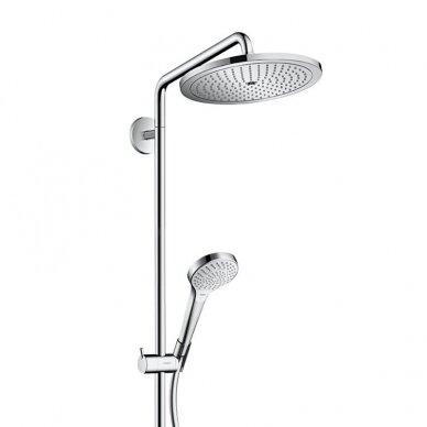 Termostatinė dušo sistema Hansgrohe Croma Select S 280 4
