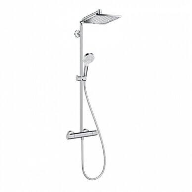 Termostatinė dušo sistema Hansgrohe Crometta E 240