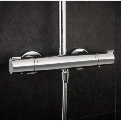 Termostatinė dušo sistema Hansgrohe Crometta E 240 6