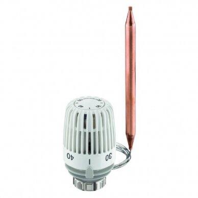 Termostatinė galvutė IMI Hydronic K 20-50 °C su laidžiu šilumai pagrindu ir tvirtinimo spyruokle