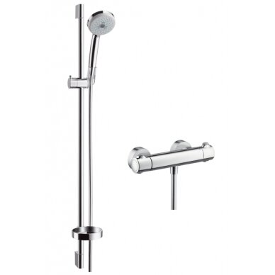 Termostatinis maišytuvas dušui Hansgrohe Ecostat 1001 SL 90