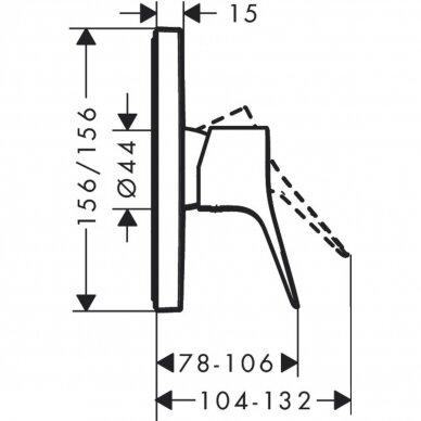 Termostatinis maišytuvas Hansgrohe Vivenis 2