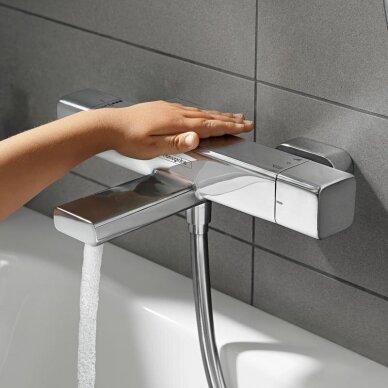 Termostatinis maišytuvas voniai Hansgrohe Ecostat E 2