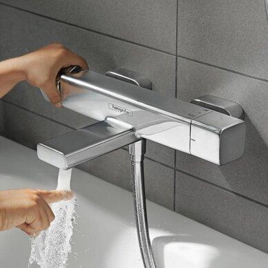 Termostatinis maišytuvas voniai Hansgrohe Ecostat E 3