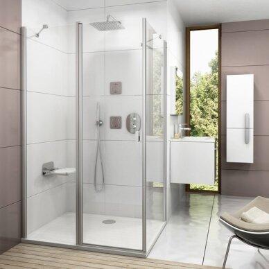 Termostatinis potinkinis vonios/dušo maišytuvas Ravak Chrome 2