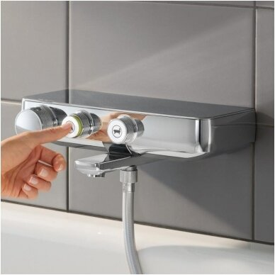 Termostatinis vonios maišytuvas Grohe Grohtherm SmartControl 2