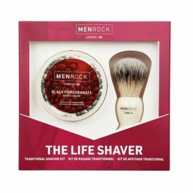 Granatų aromato skutimosi rinkinys The Life Shaver Kit