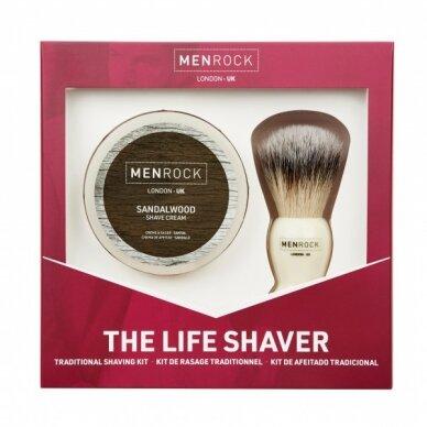 Skutimosi rinkinys The Life Shaver Kit Santalmedžio aromato