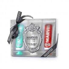 Dantų pastų rinkinys Marvis Travel Set 3*25ml