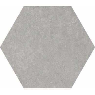 TRAFFIC GREY  akmens masės plytelės 25x22 cm