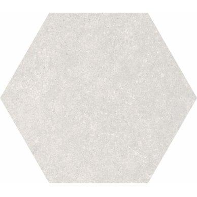 Akmens masės plytelės Traffic Silver 25x22 cm