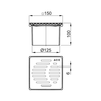 Trapo viršutinė dalis, ABS korpusas, nerūdijantis plienas 2