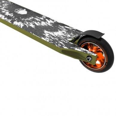 Triukinis paspirtukas su guoliais ABEC 9 Street Surfing Bandit Blast Olive (100mm ratai) 5