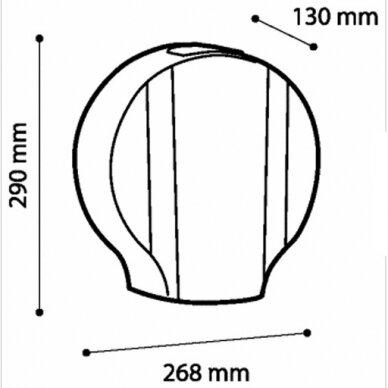 Tualetinio popieriaus laikiklis Faneco ZEN S 3