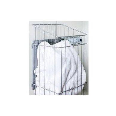 Ūkinė pakabinama spintelė Serena Retro su skalbinių krepšiu 160 cm 6
