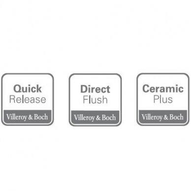 Unitazas su elektronine bidė funkcija Villeroy & Boch ViClean I-110 8