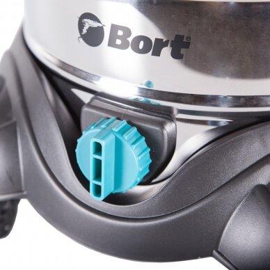Universalus (sauso ir drėgno) dulkių siurblys Bort BSS-1425-PowerPlus 7