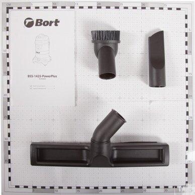 Universalus (sauso ir drėgno) dulkių siurblys Bort BSS-1425-PowerPlus 9