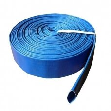 "Vamzdis LAY FLAT PVC 2"" (52mm),RUBY - 1 metras"