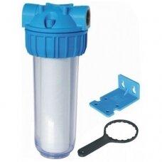 Vandens filtrų korpusas su laikikliu ir raktu PR34-I
