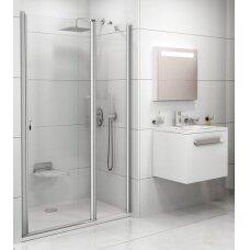 Varstomos dušo durys Ravak Chrome CSD2 100, 110, 120 cm