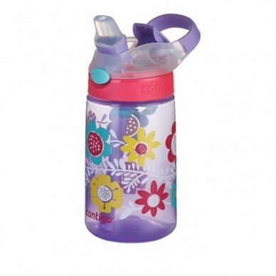 Vaikiška gertuvė Contigo Gizmo Flip Wisteria Flowers 420 ml 3