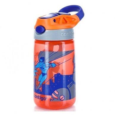 Vaikiška gertuvė Gizmo Flip Nectarine Superhero 420 ml 2