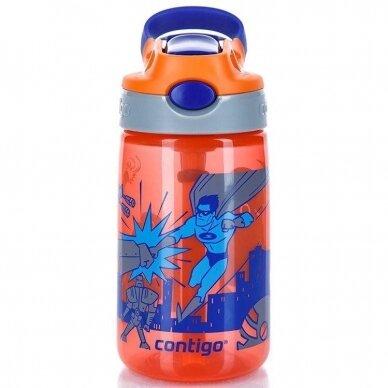 Vaikiška gertuvė Gizmo Flip Nectarine Superhero 420 ml