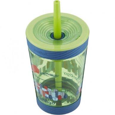 Vaikiška gertuvė vandeniui Contigo Spill Proof Tumbler Granny Smith 420 ml 2