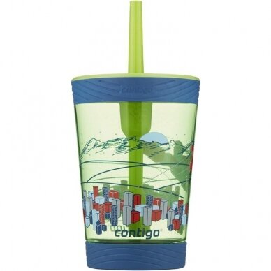 Vaikiška gertuvė vandeniui Contigo Spill Proof Tumbler Granny Smith 420 ml