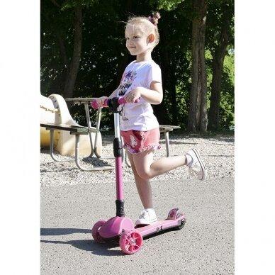 Vaikiškas elektrinis paspirtukas Beaster Kids vaikams nuo 6 metų 4